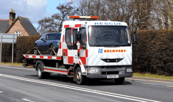 recovery truck warrington
